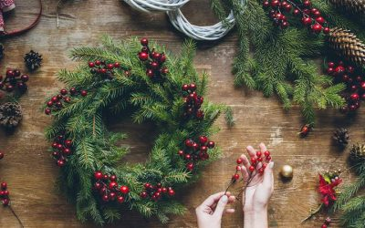 Offline Moment: Christmas Wreath Making
