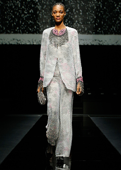 Giorgio Armani Catwalk Show The Future Of Fashion After COVID-19
