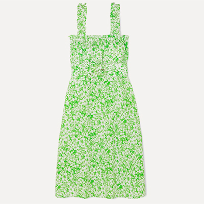 Faithfull The Brand Green Floral Dress What We Love In June Newsletter