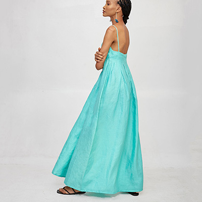 Mie blue Dress Maxi Dresses For Summer
