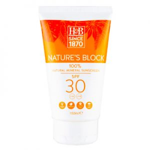 Natures Block Holland and Barrett Best Ocean Safe Mineral Sunscreens