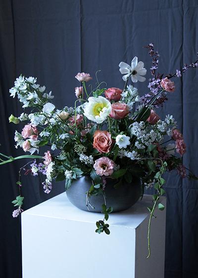 Floral Wedding Arrangement Using Flowers To Create a Unique Wedding Ultramarine Flowers