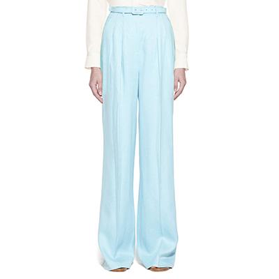 Gabriela Hearst Vargas Pants Vibrant Linen