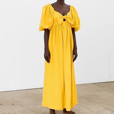 Mara Hoffman Linen Dress Vibrant Linen