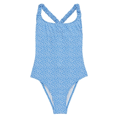 Fisch Oubli Abstract Swimsuit Stylish One Piece Swimsuits