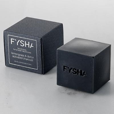 Fysha Charcoal Soap August Newsletter