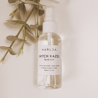 Narloa Witch Hazel Facial Mist Clean Skincare Brands To Love