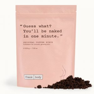Original Coffee Scrub Frank Body Natural Body Scrubs For Glowing Skin