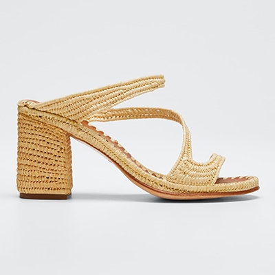 Carrie Forbes Rafia Sandals Sandals Minimal Sandals