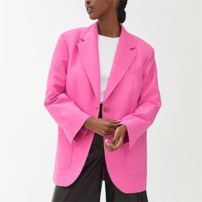 Arket Oversize Blazer Best Blazers For Summer Evenings