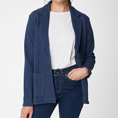 Organic Cotton Blazer Thought Best Blazers For Summer Evenings