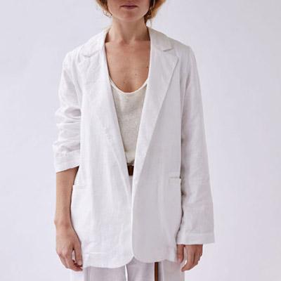 Worn Store Cotton Blazer Best Blazers For Summer Evenings
