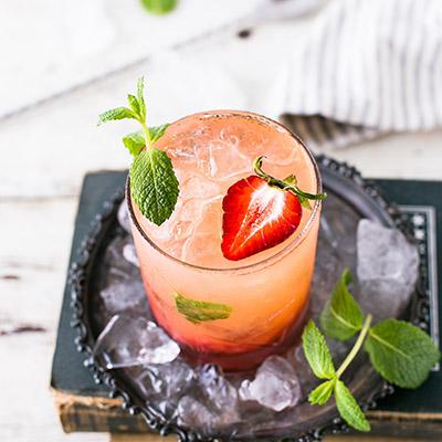 Summer Mocktail Recipes Pineapple Cobbler