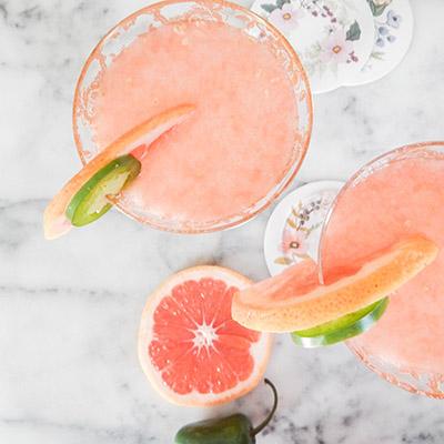 Summer Mocktail Recipes Pomegranate Spritz