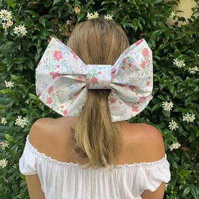 Saluto London Floral Hair Bow Organic September Newsletter