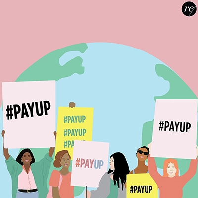 What is the #payup movement Remake Our World