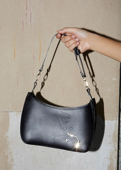 The Serpentine Bag Sustainable Leather Accessories Paradise Row Nika Diamond-Krendel Style With Substance Podcast