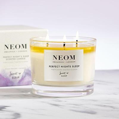 Neom Organics Perfect Nights Sleep Candle Organic Homeware