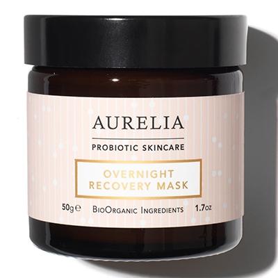 Aurelia Probiotic Skincare Overnight Recovery Mask October Newsletter