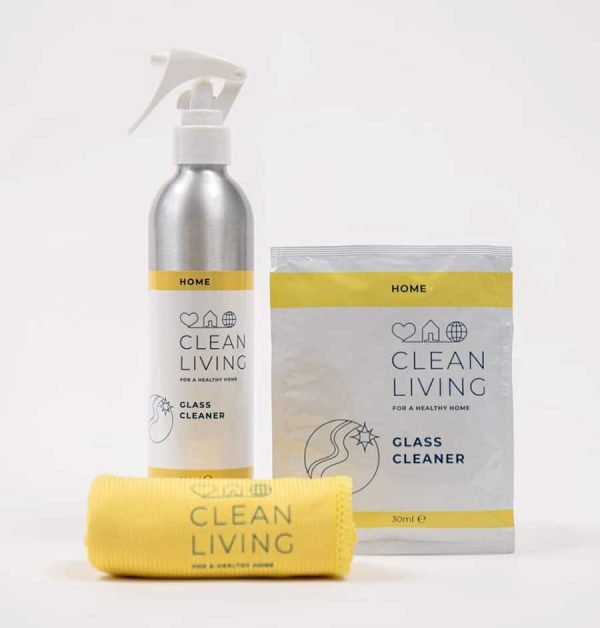 Clean Living Glass Cleaner Refillable Cleaning Products