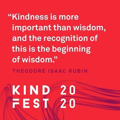 #KindFest2020 November Newsletter