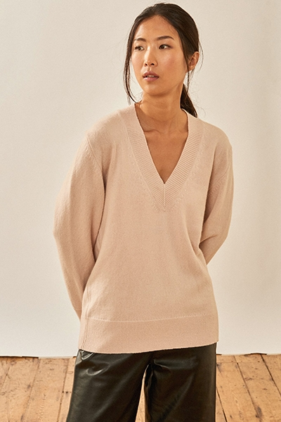 Classic Jumpers To Invest In - and how to take care of them NavyGrey
