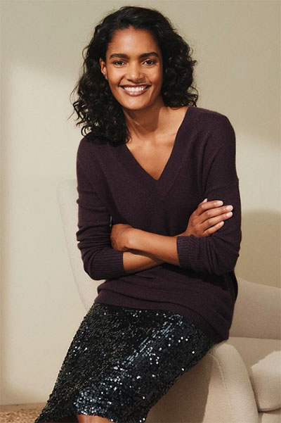 Best Ethical Cashmere Brands The White Company Jumper