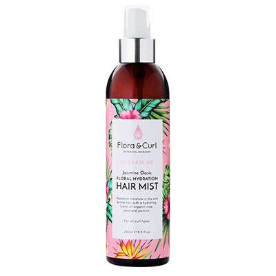 The Vendeur Sustainable Christmas Gift Guide Gifts For £20 and Under Flora & Curl Hair Mist