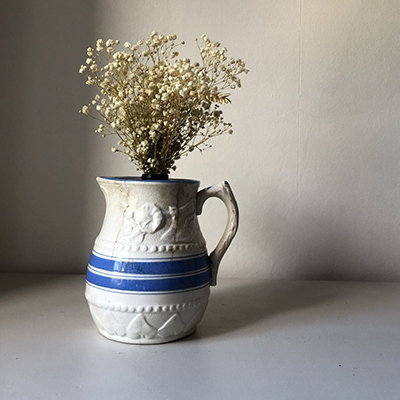 The Vendeur Sustainable Christmas Gift Guide Gifts For £20 and Under Loved and Lost Vintage French Jug
