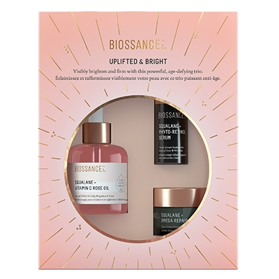 The Vendeur Sustainable Christmas Gift Guide Conscious Beauty Lover Biossance Uplifted and Bright kit