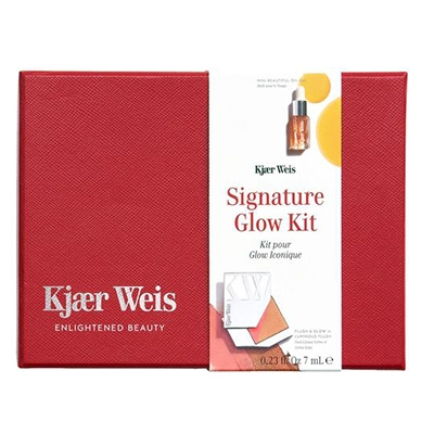 The Vendeur Sustainable Christmas Gift Guide Conscious Beauty Lover Kjaer Weis Signature Glow Kit