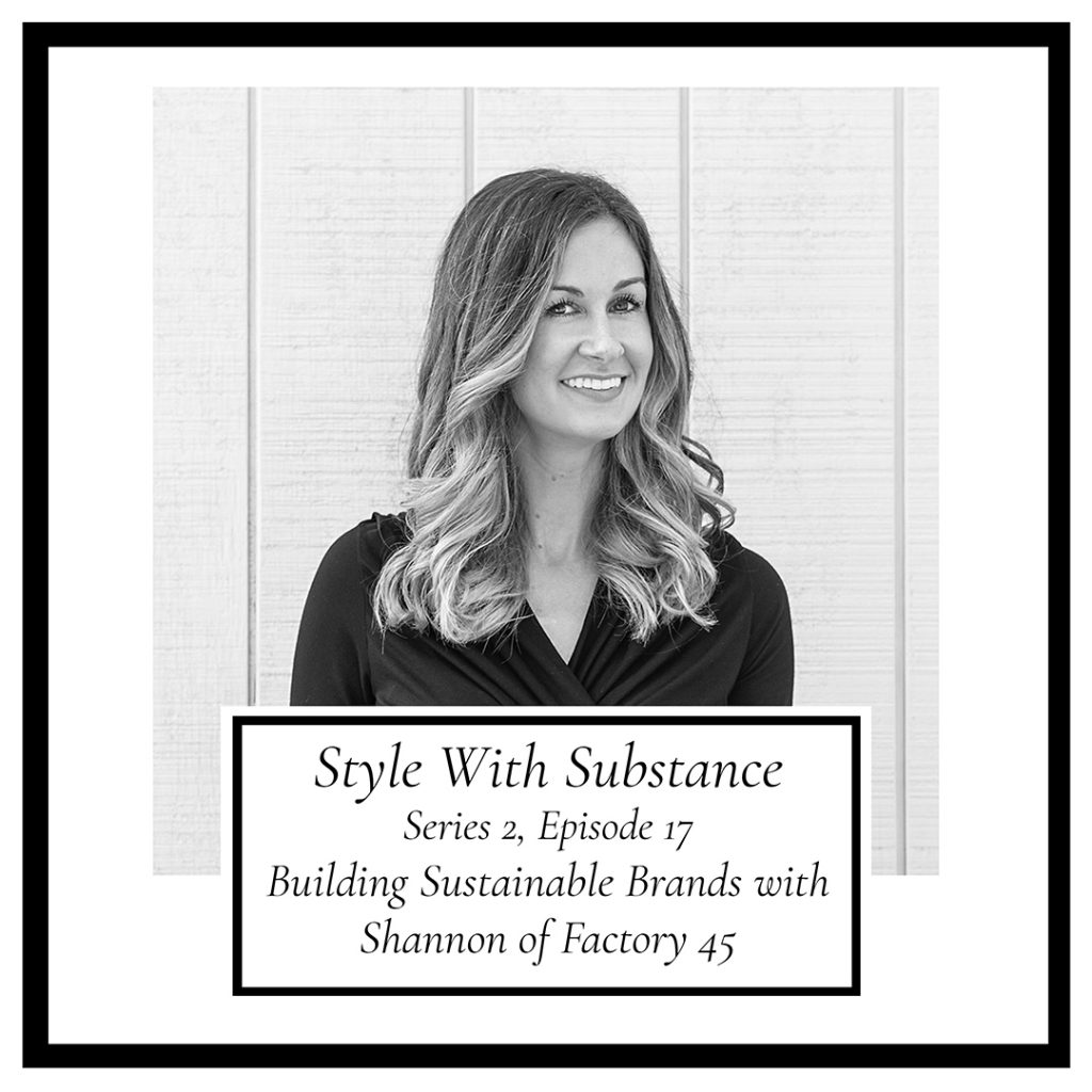 Style With Substance Podcast Shannon Lohr