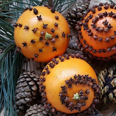 Offline Moment Making Your Own Christmas Decorations Christmas Orange Pomanders