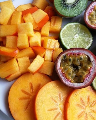 Vegan Christmas Menu Fruit Platter