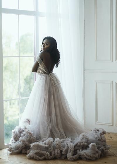 Sustainable Spring Wedding Hannah Mullens Green Soul Weddings Pastel Wedding Dress