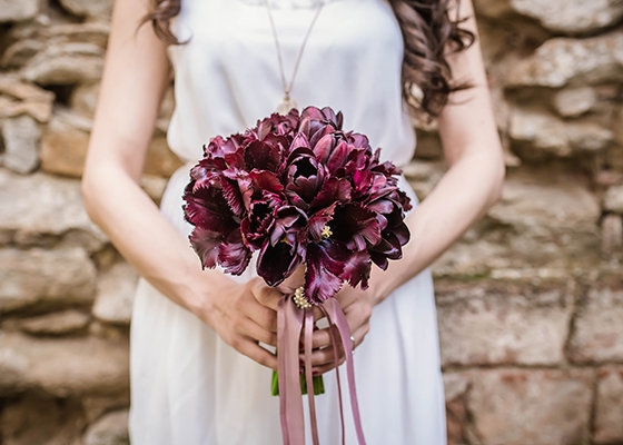 Sustainable Spring Wedding Hannah Mullens Green Soul Weddings Spring Bouquet