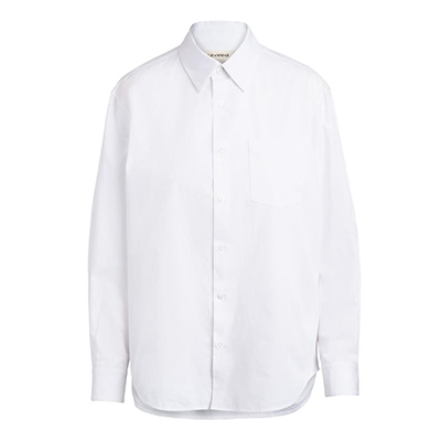 February Newsletter Grammar White Cotton Shirt