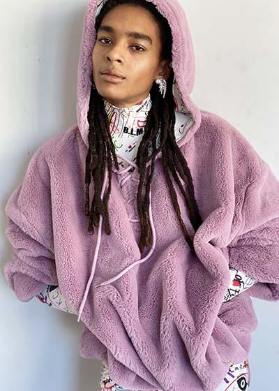 Fashion Crush Kym Canter House of Fluff Biofur Hoodie