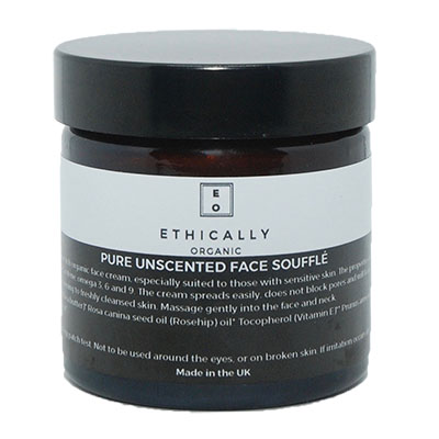 Best Moisturisers For Dry Winter Skin Ethically Organic Unscented Face Soufflé