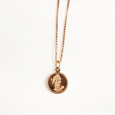 February Newsletter Vintage Pi London zodiac necklace
