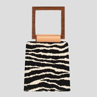 Best Vegan Handbags Mashu Amaryllis Zebra Vegan Bags
