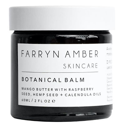 Best Moisturisers For Dry Winter Skin Farryn Amber Botanical Balm