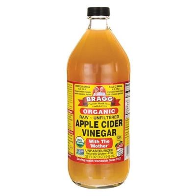 How to Treat Eczema naturally Bragg Organic Apple Cider Vinegar