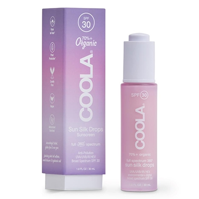 Blue Light Exposure How to Protect yourself Coola Sun silk drops