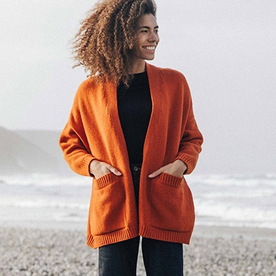Consciously Made Transitional Cardigans Finisterre