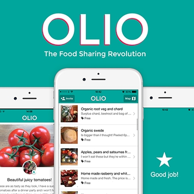 Apps to Help You Shop More Organically Olio Food Sharing App
