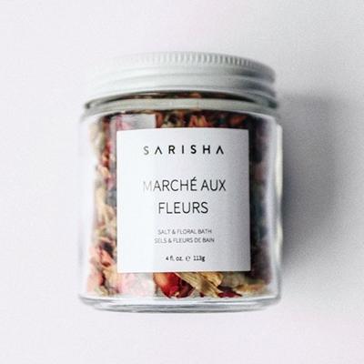 Sarisha Marcé Aux Fleurs Best Bath Soaks and Salts