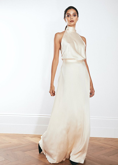 Wedding Dresses For Small Ceremonies Valle and Vik Dress