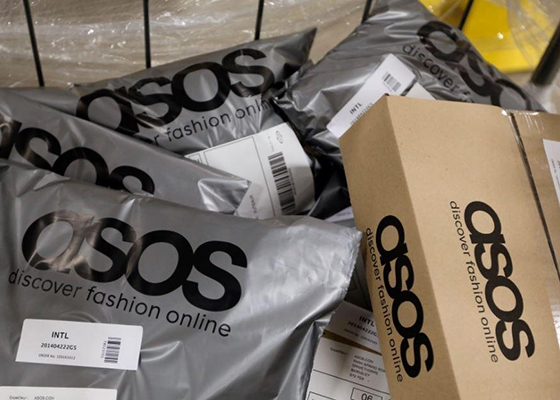 Is Your Online Shopping Costing The Earth? ASOS plastic Packaging
