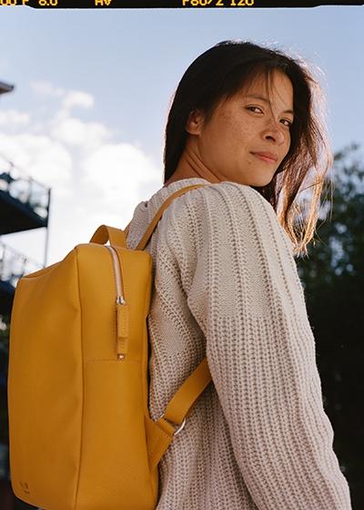 Fashion Crush: Genia Mineeva BEEN London Islington Backpack Recycled Leather